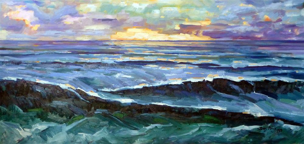 """Die Nordsee"" original fine art by Jurij Frey"