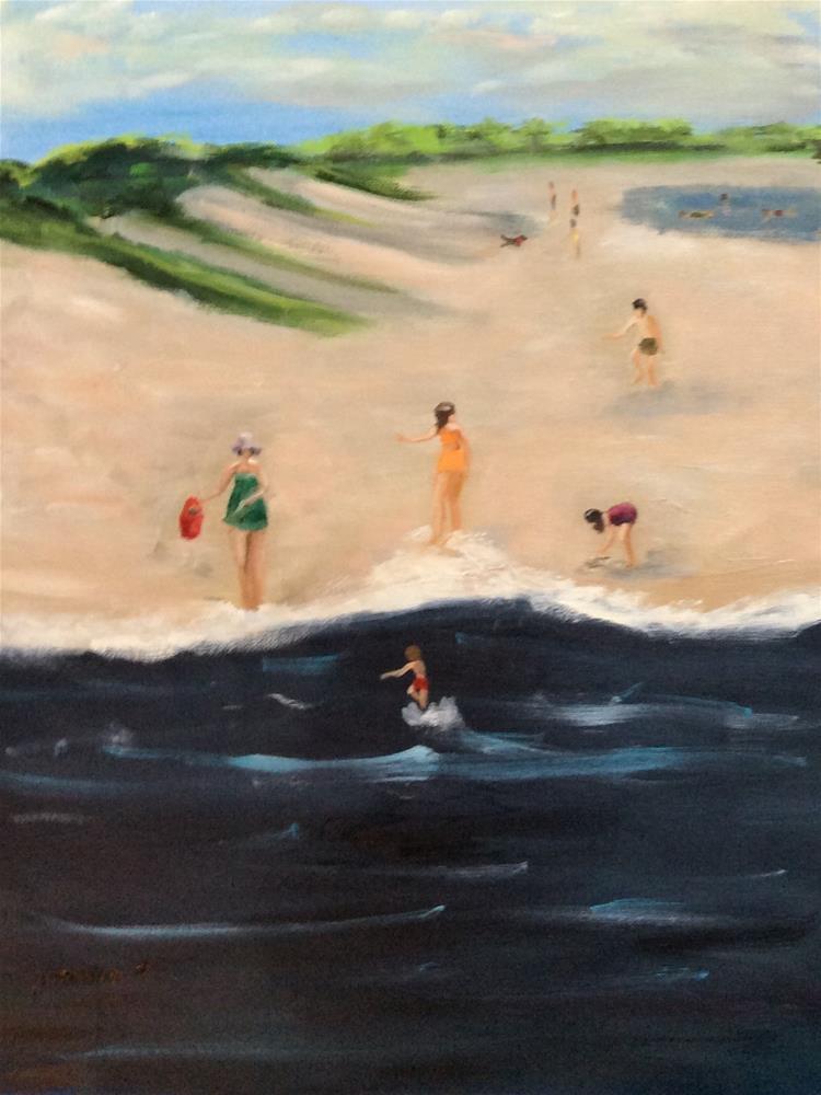 """Summer Fun"" original fine art by Patty Barnes"