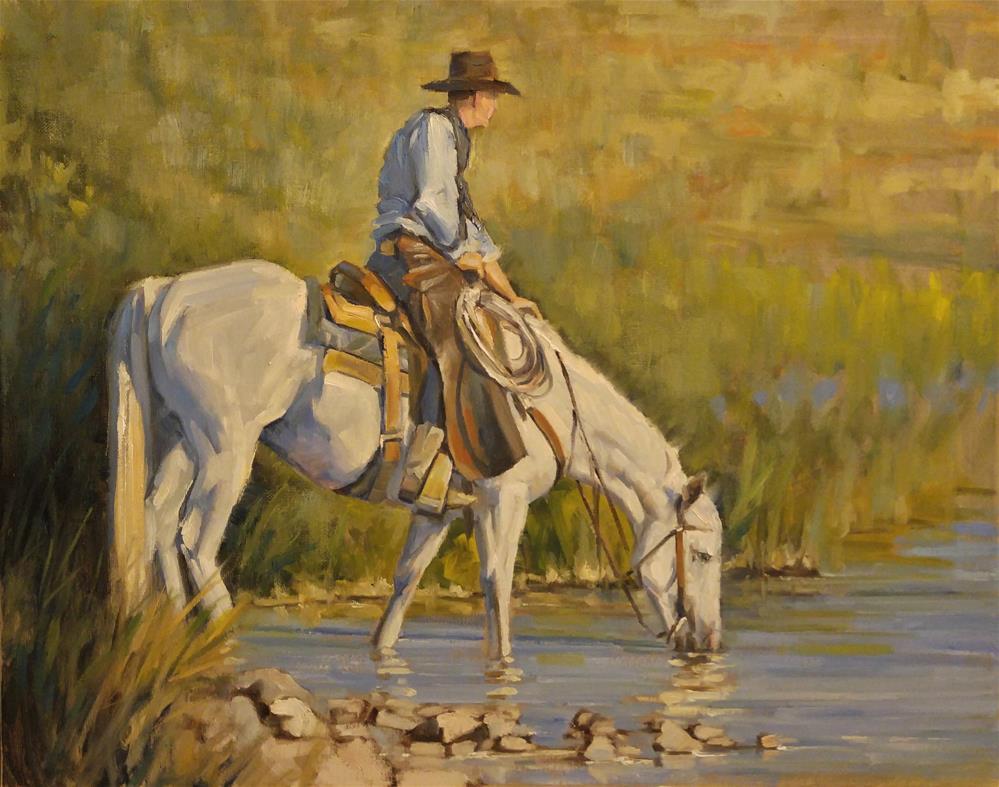 """""""Parched"""" original fine art by Rick Kennington"""