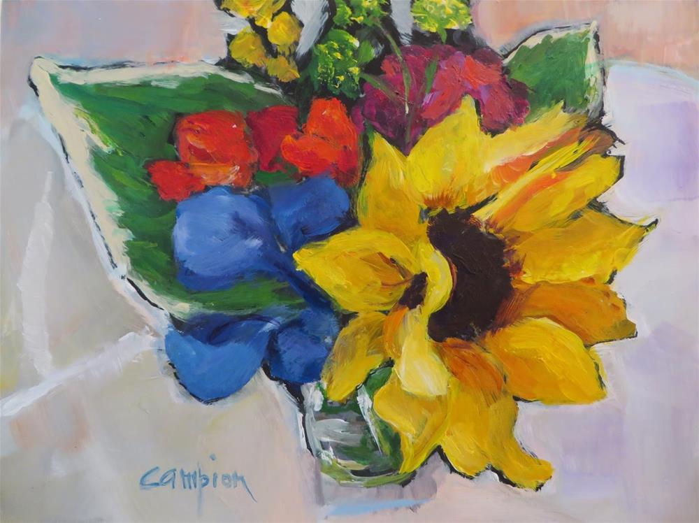 """641 Sunny Side"" original fine art by Diane Campion"