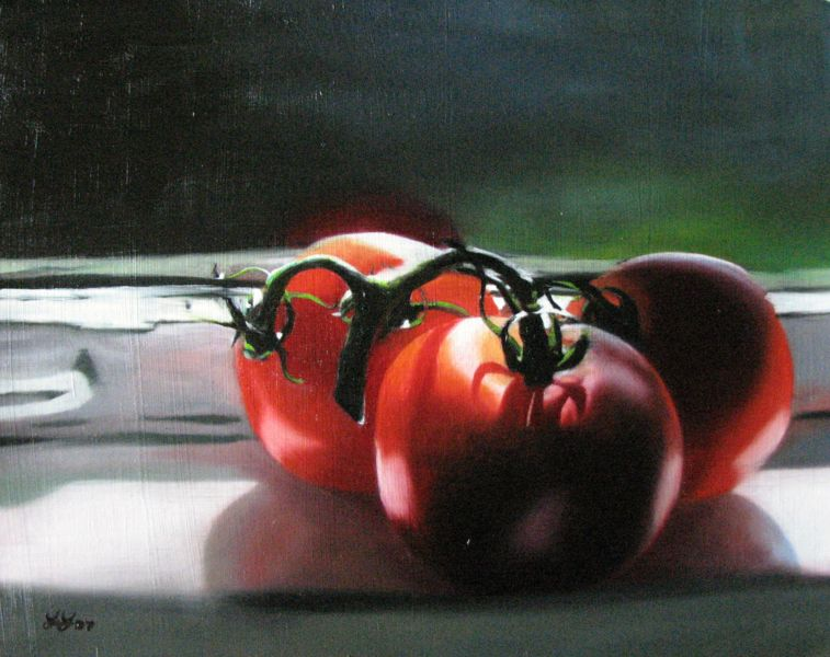"""Tommies by the window"" original fine art by Lauren Pretorius"