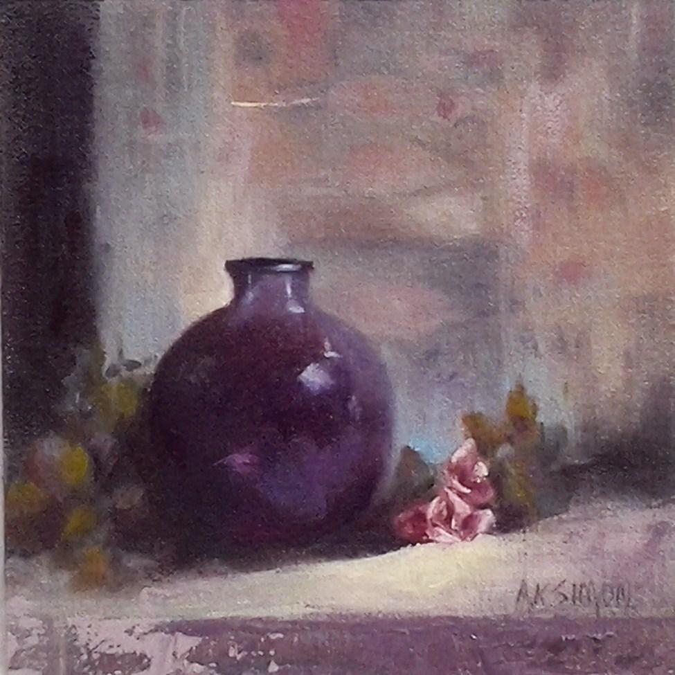 """A Dependant Relationship"" original fine art by A.K. Simon"