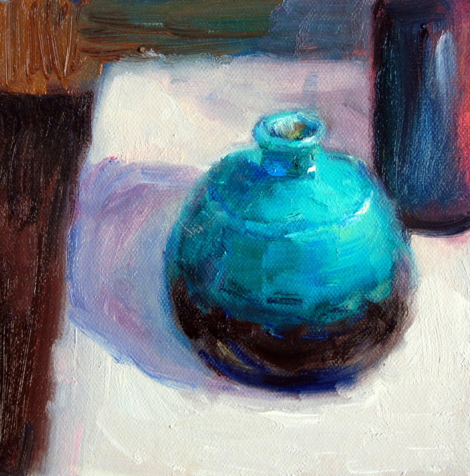 """Quick Study"" original fine art by Julie Ford Oliver"