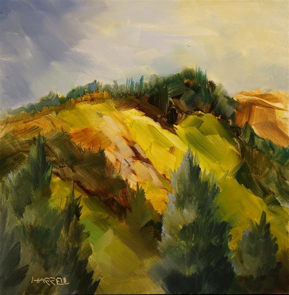 """View From Wheeler Road"" original fine art by Sue Harrell"
