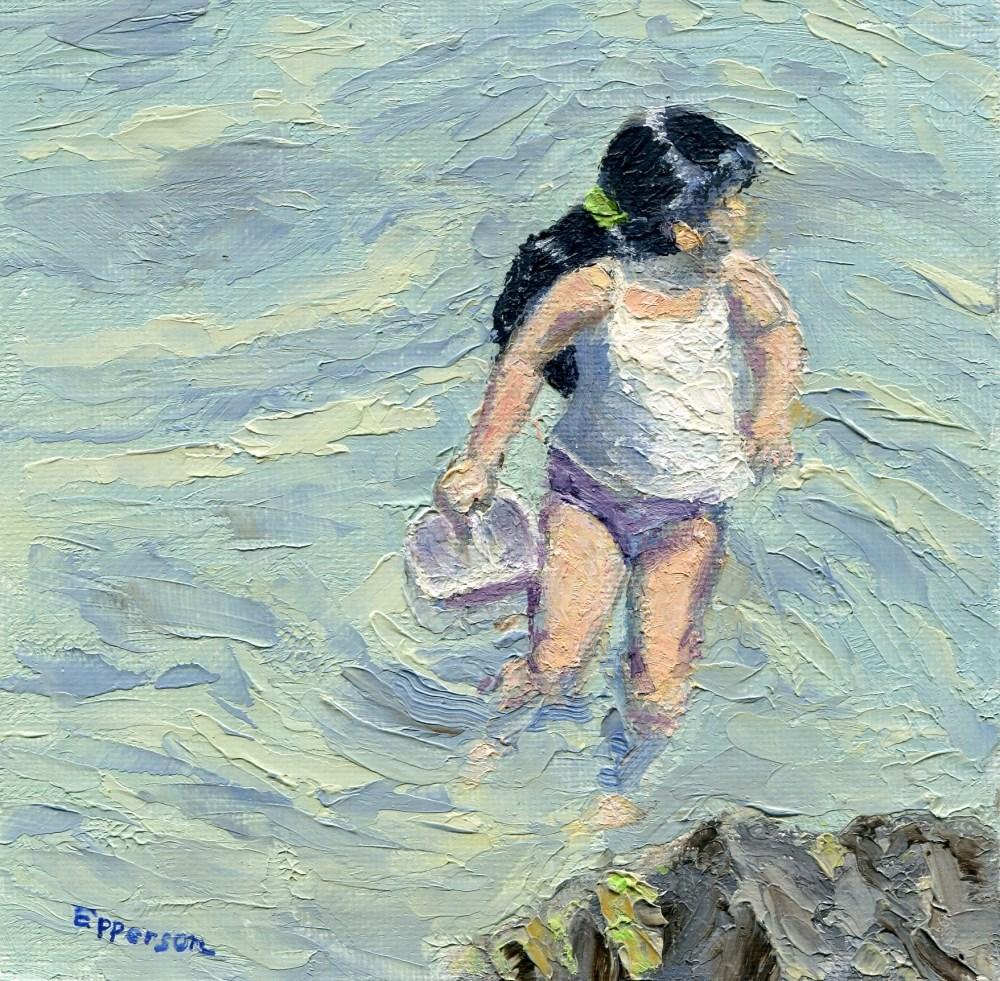 """""""Ondine's Adventure"""" original fine art by Stanley Epperson"""