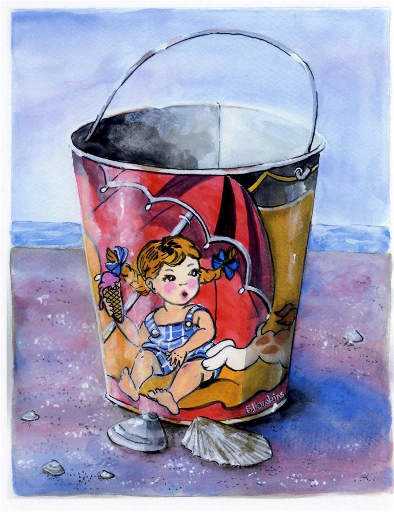 """Fun in the Sun"" original fine art by Sheryl Heatherly Hawkins"