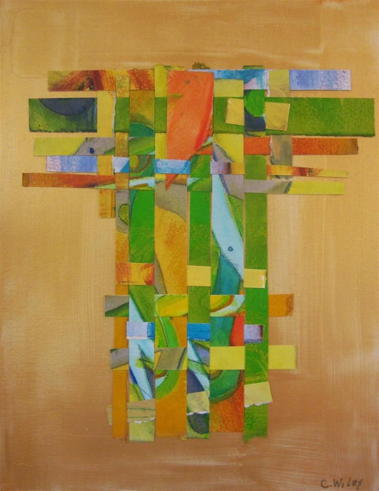 """Kimono Series #5"" original fine art by Carol Wiley"