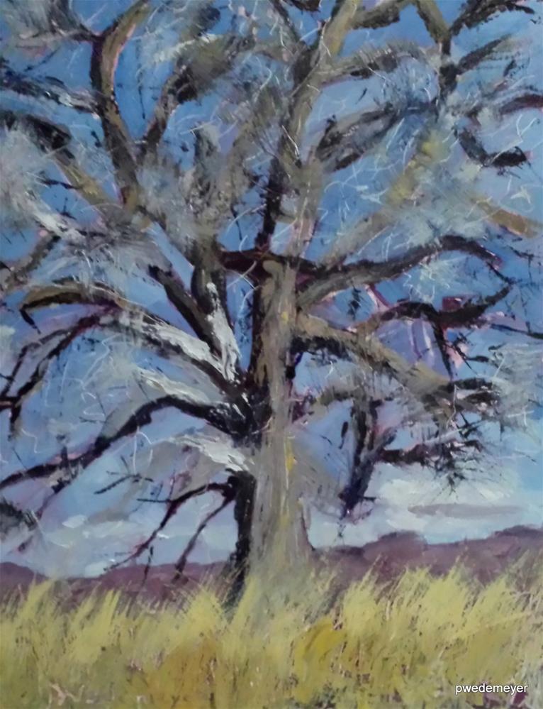 """Tree of Life"" original fine art by Pamela Wedemeyer"