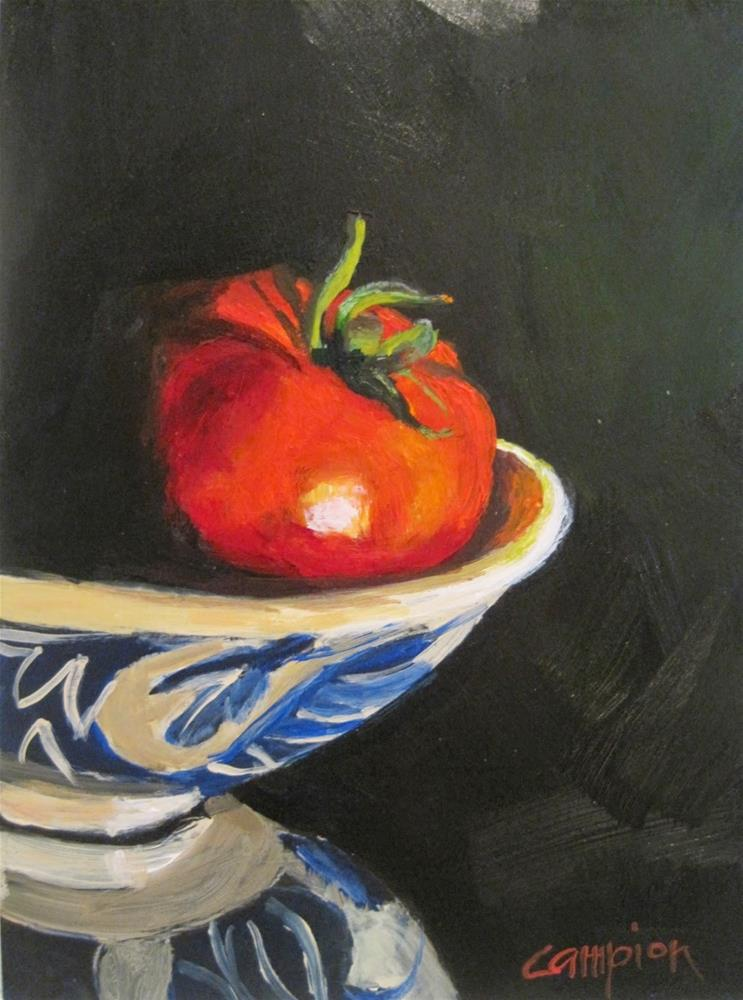 """""""415 Locally Grown and Perfect"""" original fine art by Diane Campion"""