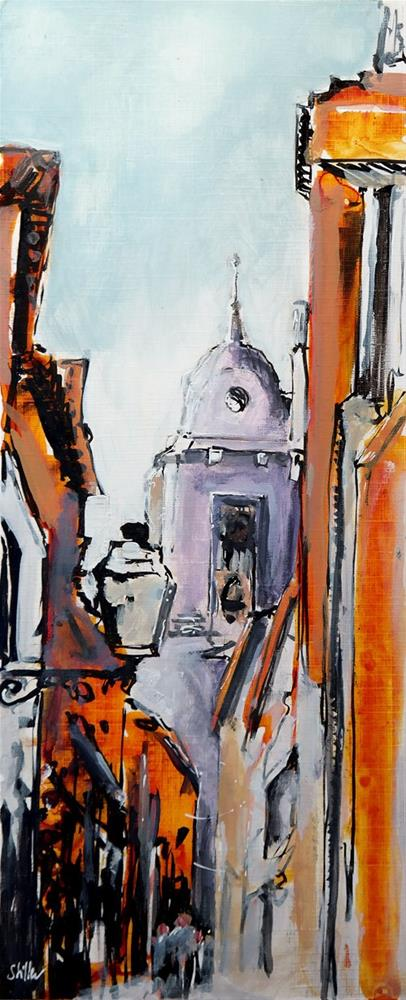 """2412 Lisbon Church Street"" original fine art by Dietmar Stiller"