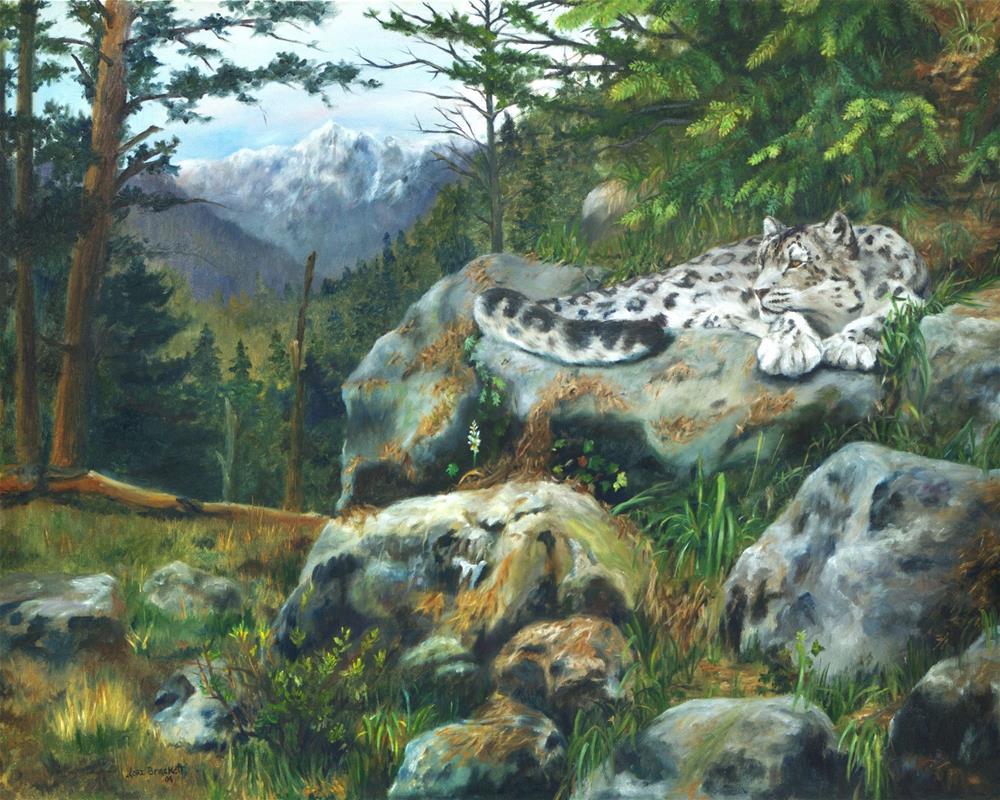 """Himalayan Dreaming On Such A Summer's Day"" original fine art by Lori Brackett"