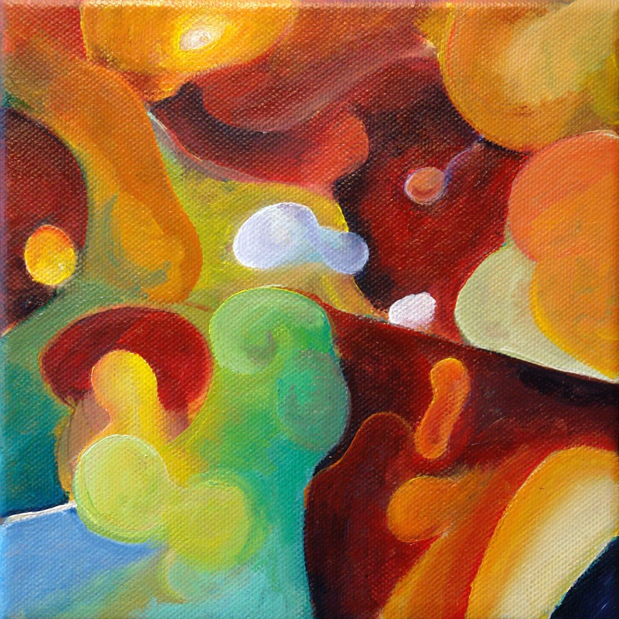 """""""0656 The Cyclops"""" original fine art by Dietmar Stiller"""