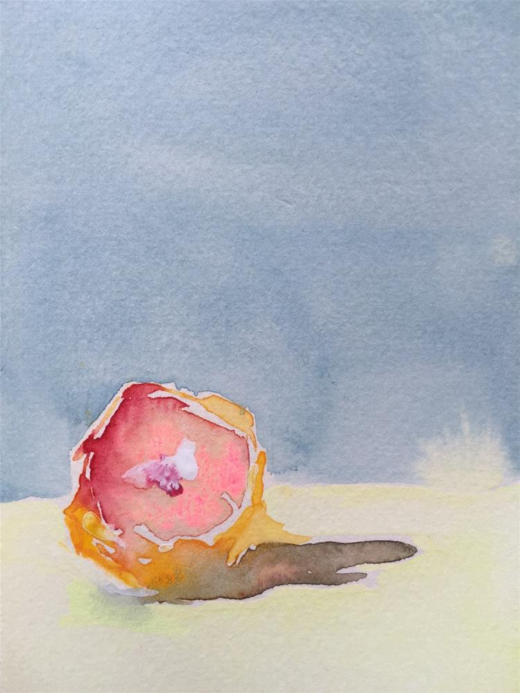 """138 Grapefruit"" original fine art by Jenny Doh"