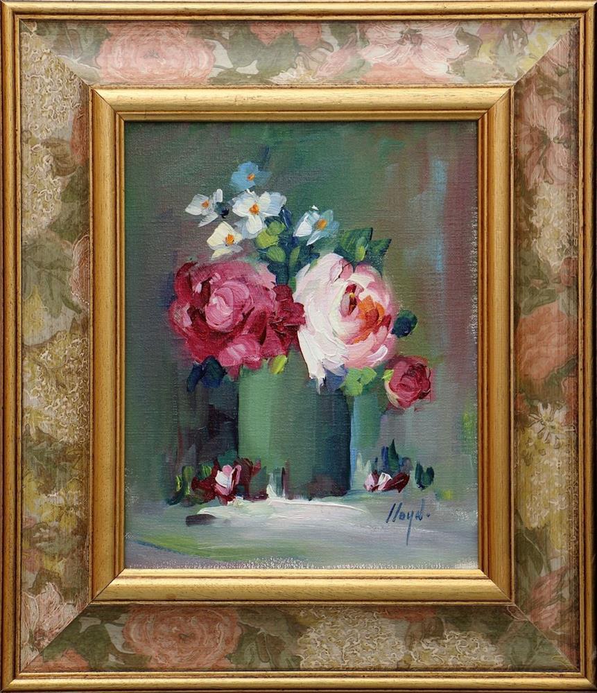 """Peonies"" original fine art by Diane Lloyd"