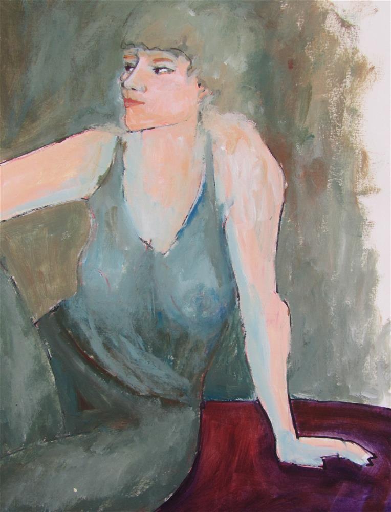 """Untitled"" original fine art by Patricia MacDonald"