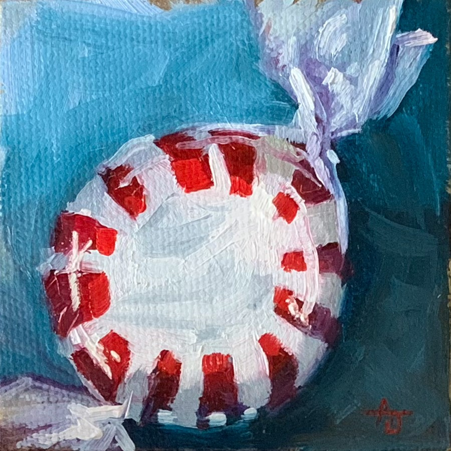 """Peppermint"" original fine art by Andrea Jeris"