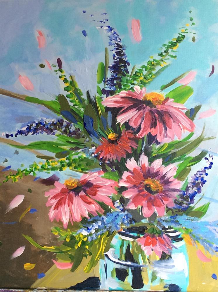 """""""Garden Gems"""" original fine art by Molly Rohrscheib Hathaway"""