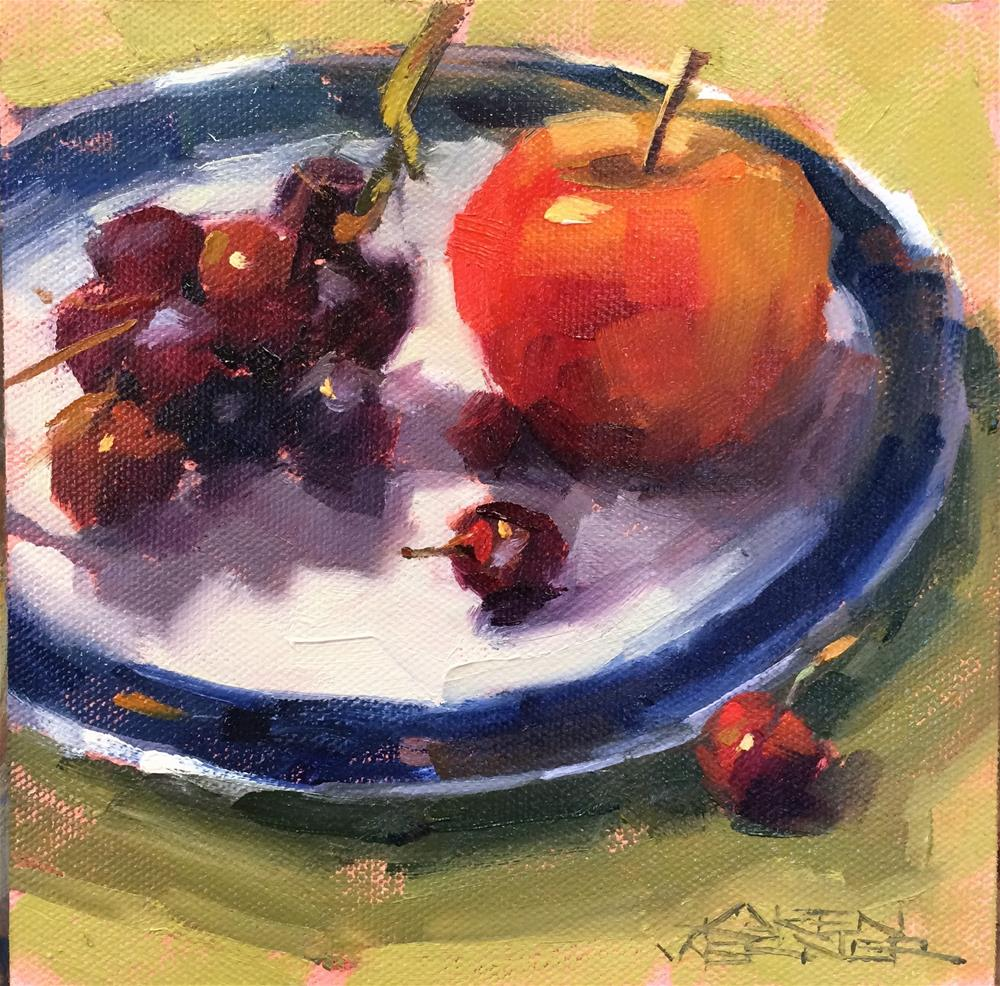 """Workshop Fruit"" original fine art by Karen Werner"