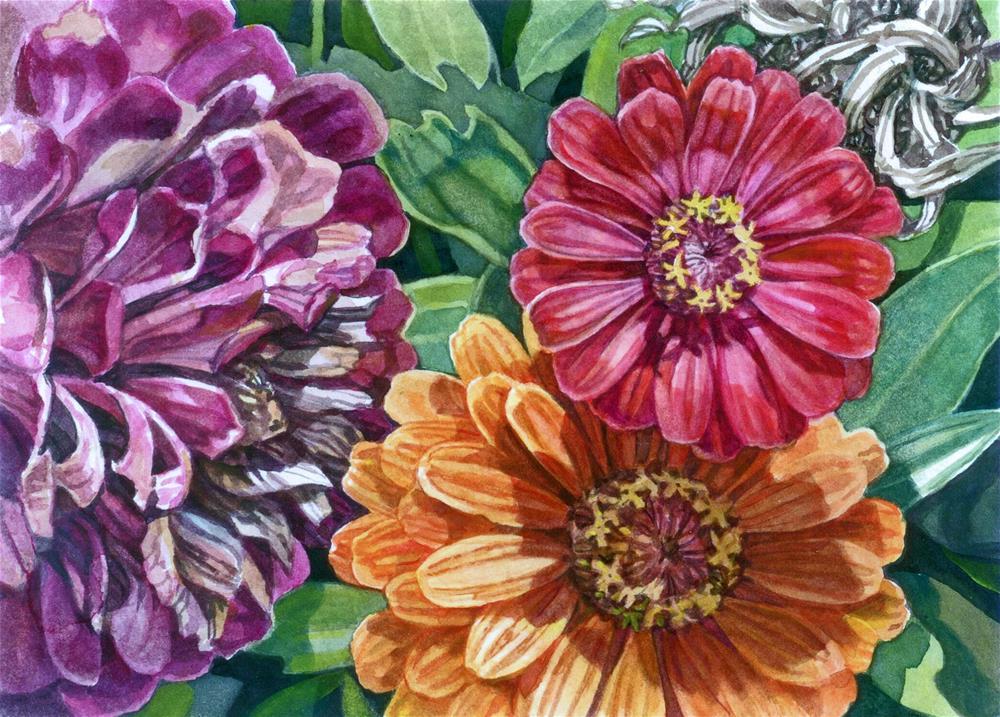"""Sunshine Colours"" original fine art by Nicoletta Baumeister"