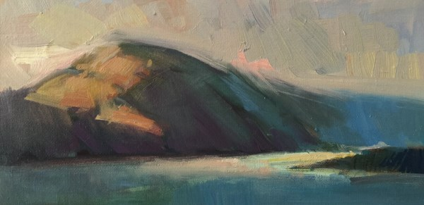 """Netarts Bay Glow"" original fine art by Patti McNutt"