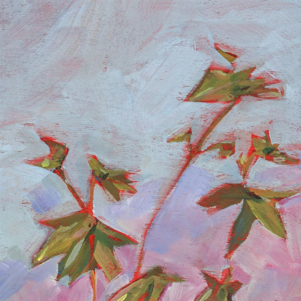 """0662: Just the Ivy"" original fine art by Brian Miller"