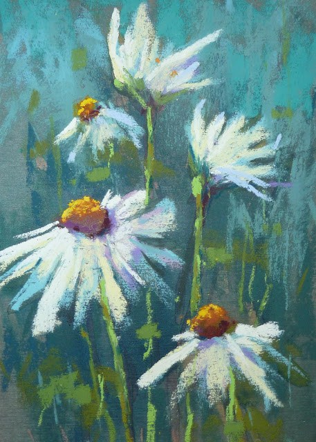 """Fresh as a Daisy"" original fine art by Karen Margulis"