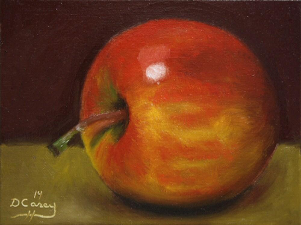 """140822 - Apple 009a"" original fine art by Dave Casey"