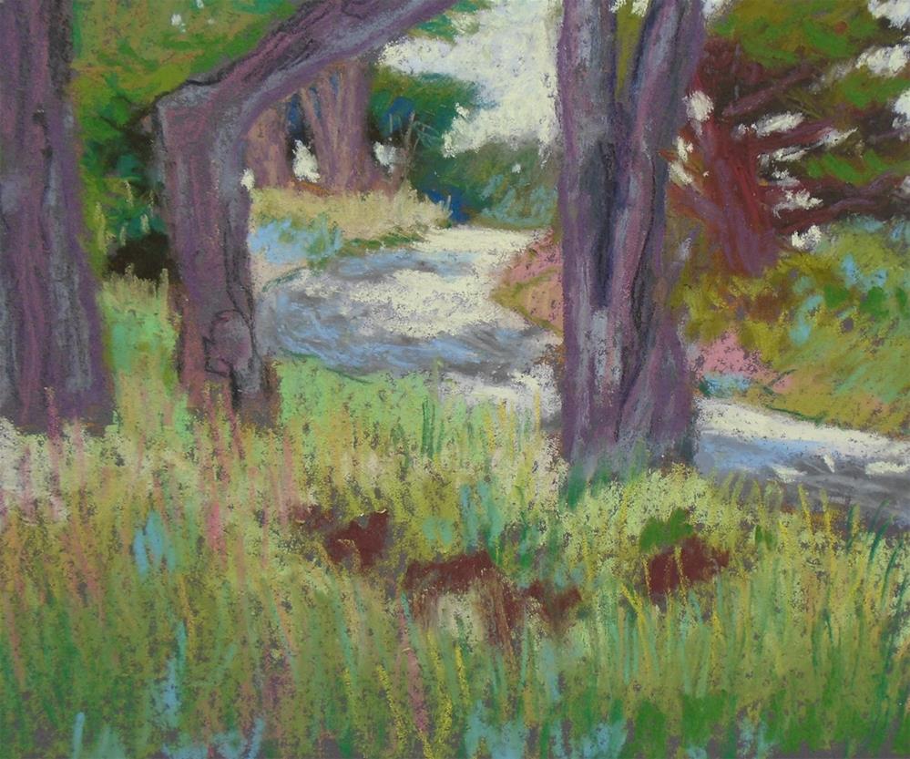 """Park Road"" original fine art by Rhett Regina Owings"