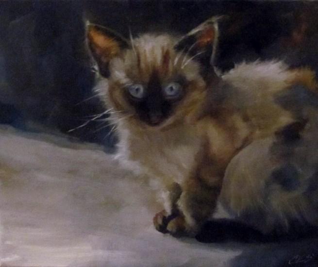 """Nocturnal"" original fine art by ~ces~ Christine E. S. Code"