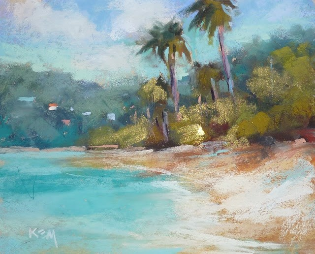 """""""How to Practice Art and the Art of Relaxation"""" original fine art by Karen Margulis"""