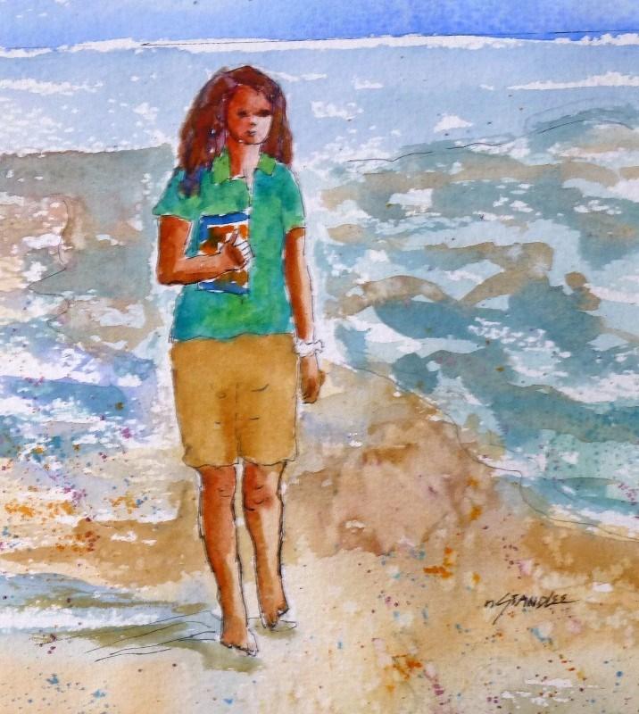 """Possibilities 13104"" original fine art by Nancy Standlee"