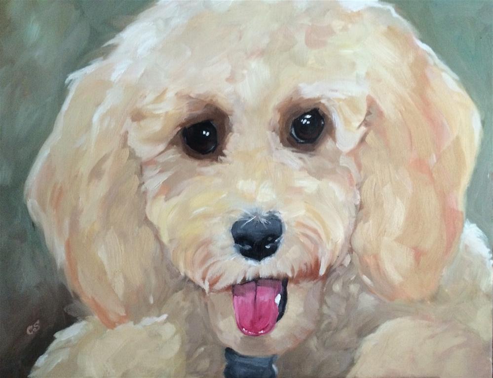 """""""Teddy"""" original fine art by Carol Stickley"""