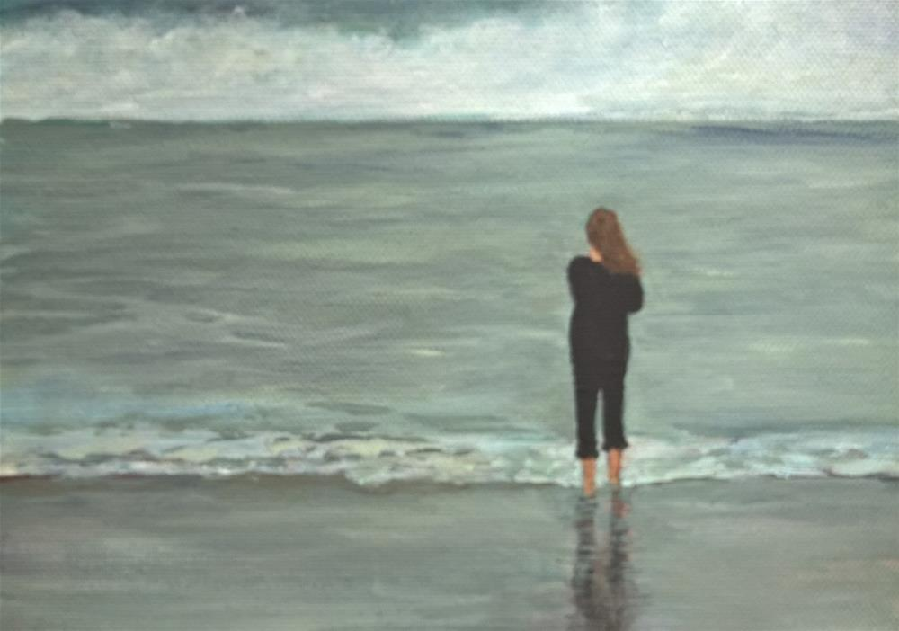 """Solitude"" original fine art by Joan Matero"