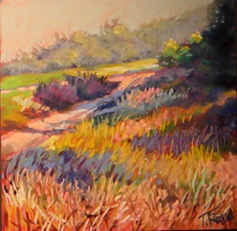 """End of the road"" original fine art by Toby Reid"