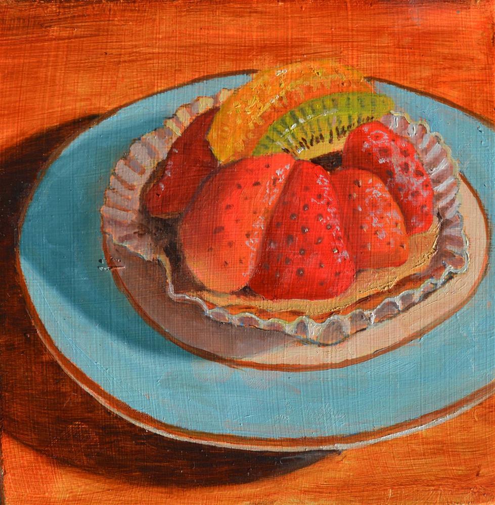 """""""Sweet Tart"""" original fine art by Robert Frankis"""