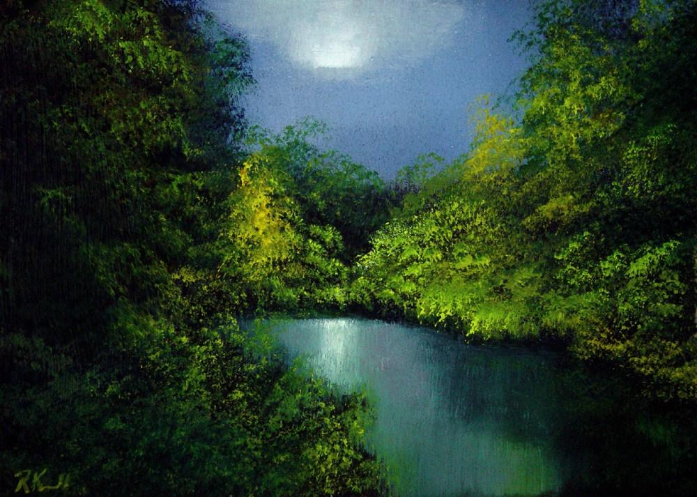 """Early Morning"" original fine art by Bob Kimball"
