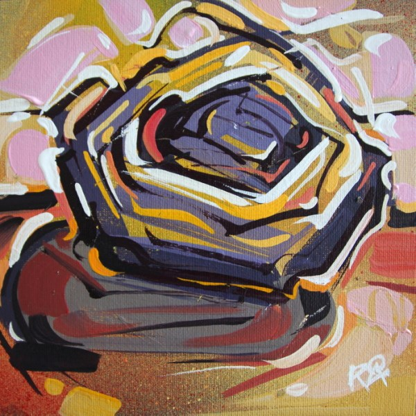 """Bird's Nest 56"" original fine art by Roger Akesson"