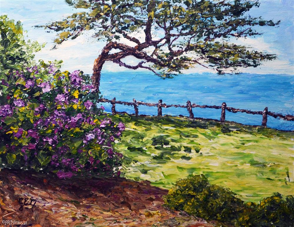 """Peaceful Beauty at Mauna Kea Beach"" original fine art by Gloria Ester"
