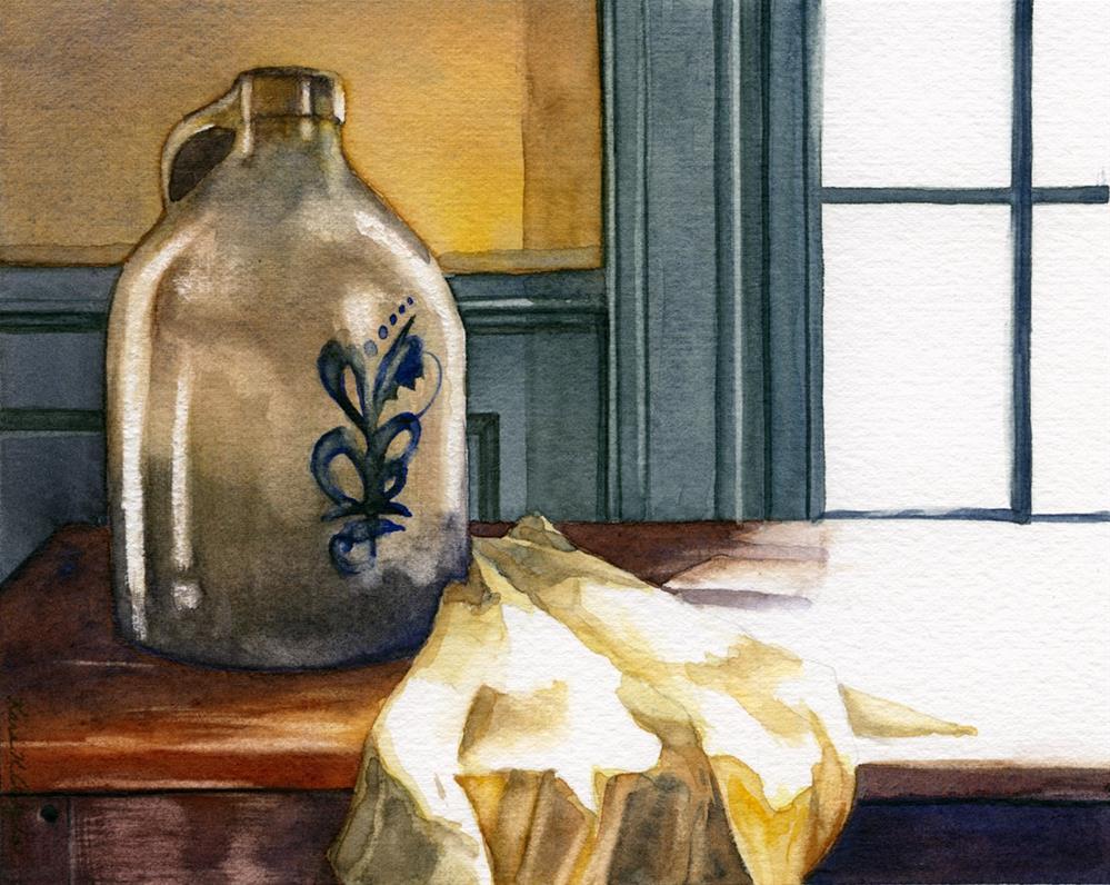 """Sue's Crock"" original fine art by Kara K. Bigda"