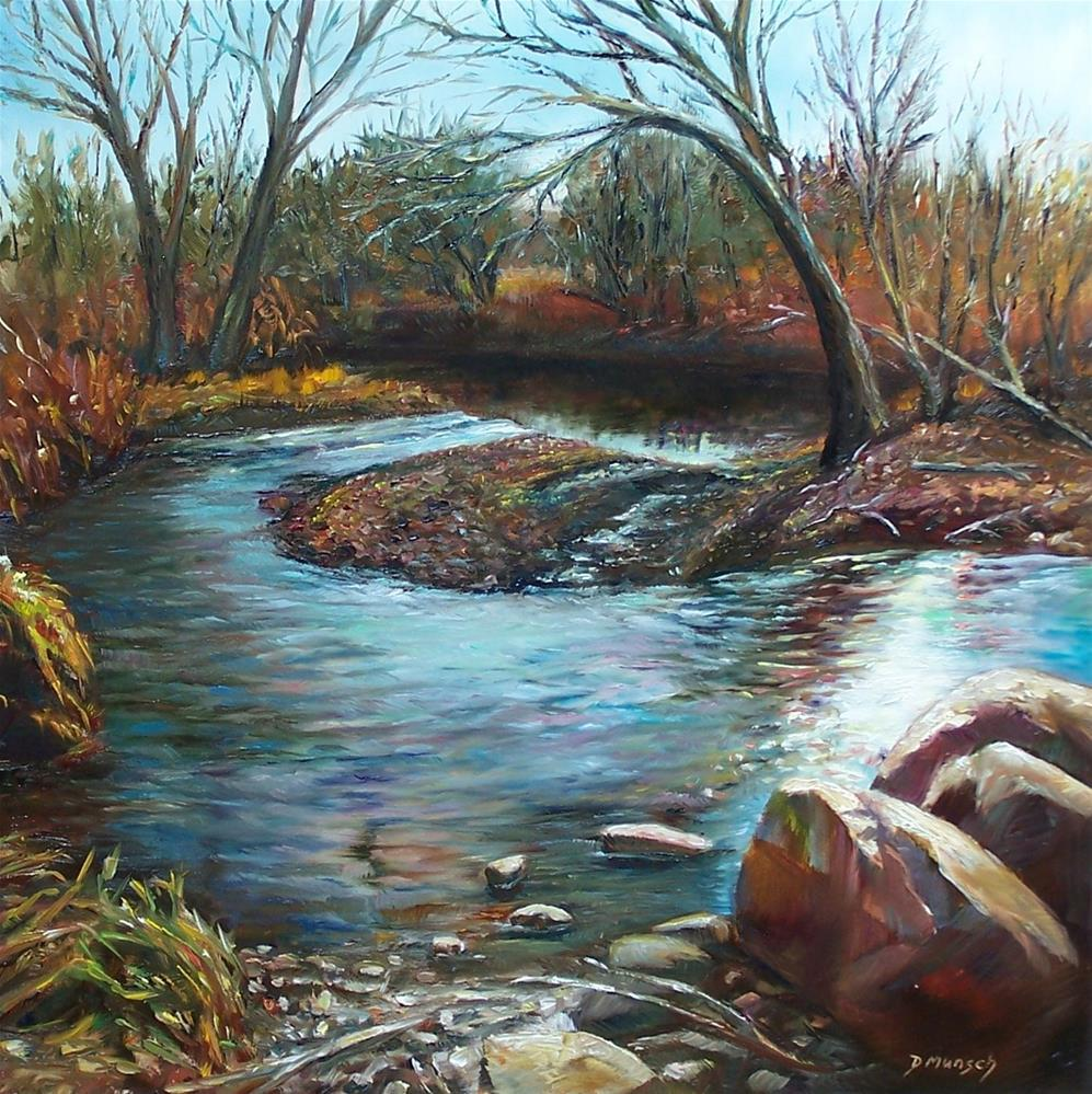 """Nature's Sparkle"" original fine art by Donna Munsch"