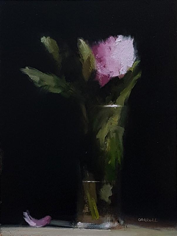 """Peony Glass"" original fine art by Neil Carroll"