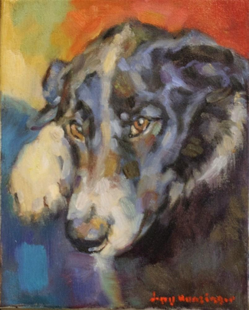 """Jesse  SOLD"" original fine art by jerry hunsinger"