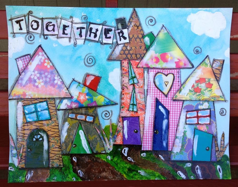 """""""Together"""" original fine art by Kali Parsons"""