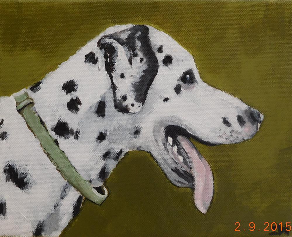 """""""Dalmation"""" original fine art by Daryl West"""