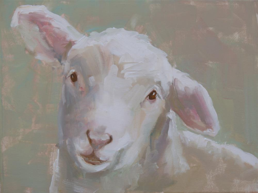 """""""oh dear"""" original fine art by Carol Carmichael"""
