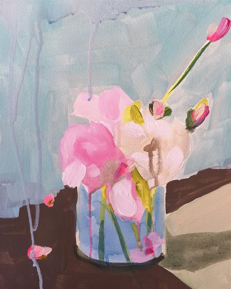 """71 Only Then"" original fine art by Jenny Doh"
