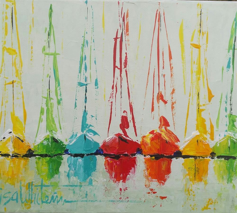 """8 - Saturday"" original fine art by Lisa Rogers"