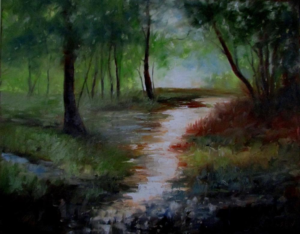 """16 x 20 inch oil"" original fine art by Linda Yurgensen"