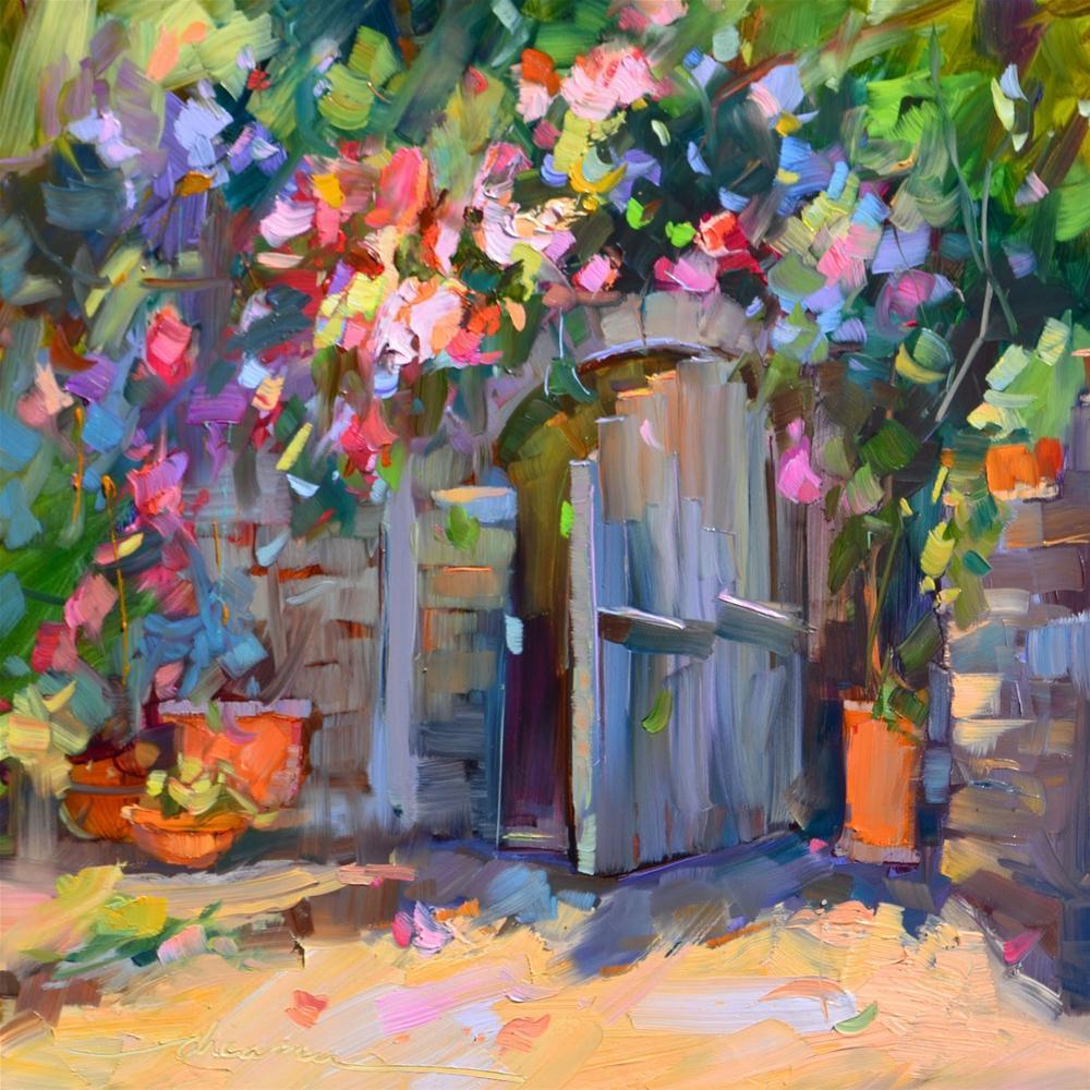 """Hidden"" original fine art by Dreama Tolle Perry"