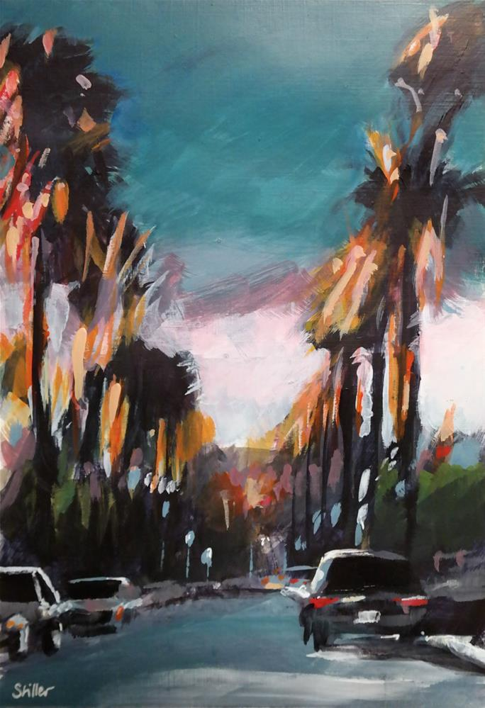 """3026 Boulevard Hollywood"" original fine art by Dietmar Stiller"